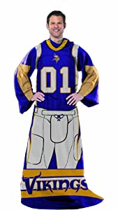 NFL Minnesota Vikings Full Body Player Comfy Throw by Northwest