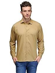 Harvest Khaki 100 % Cotton Shirt for Men