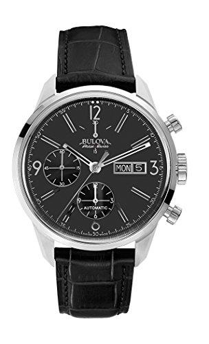 bulova-herren-armbanduhr-chronograph-automatik-leder-63c115