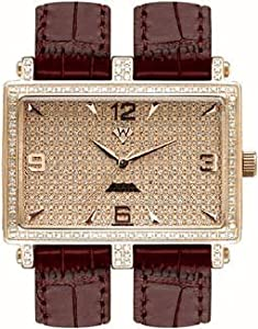 Aqua Master Men's Double-Band Diamond Watch, 1.25 ctw