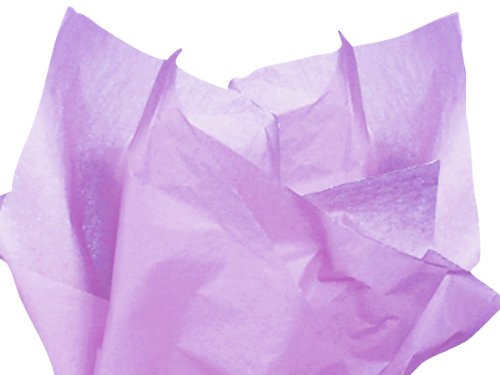 "Soft Lavender Purple Bulk Tissue Paper 20"" X 30"" - 48 Sheets front-965057"