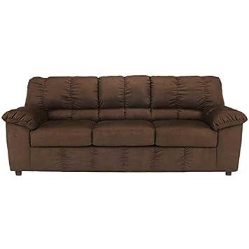 Dominator Sofa in Cafe Fabric