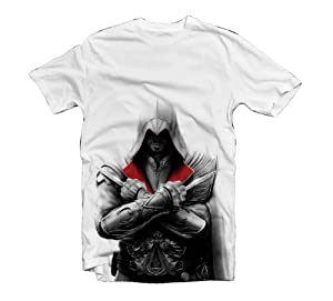 Assassins Creed Brotherhood T-Shirt - Ezio II, Gre L [Edizione : Germania]