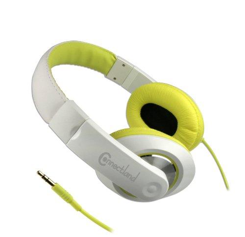Syba Cl-Aud63033 Circumaural Over-Ear Stereo Headphone - Yellow