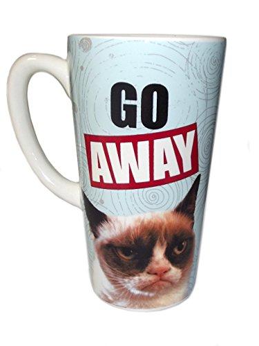 Grumpy Cat Go Away Latte Mug