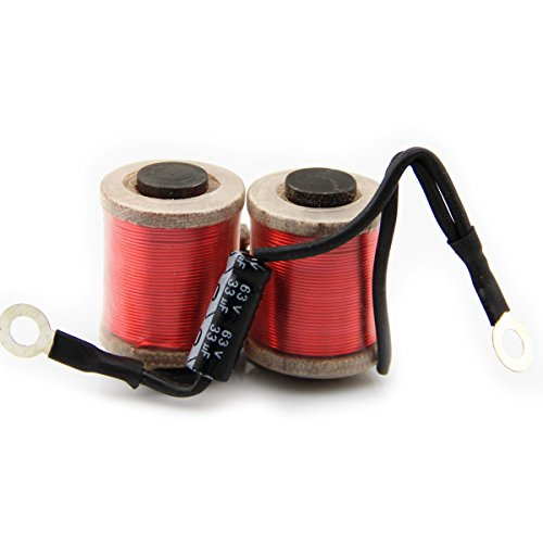 High Quality Coil Tattoo Machine Red 28mm 10 Wrap Copper Wire Coils Tattoo Gun Parts for Shader Liner Beauty Body Care (Tattoo Parts compare prices)