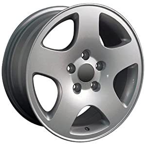 15″ Fits Audi – A6 Style Replica Wheel – Silver 15×7