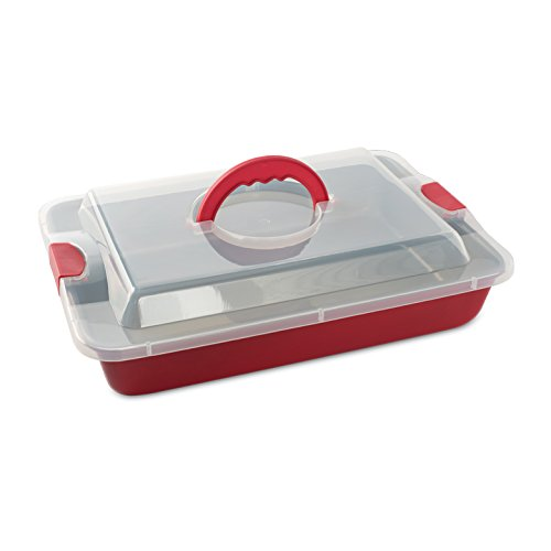 Nordic Ware Freshly Baked Cake Pan with Lid, 9