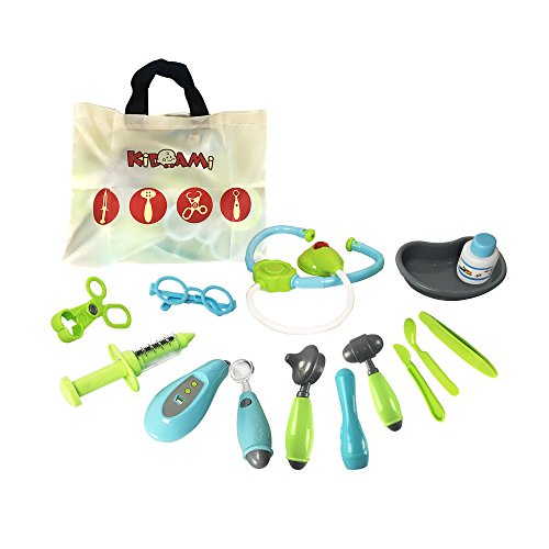 Kidami-Pretend-Doctor-Kit-Playset-for-Kids-Includes-14-Medical-Equipments-and-a-Handy-Storage-Bag