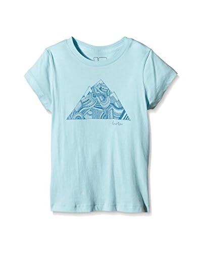 Burton Camiseta Manga Corta Cancun Azul Claro