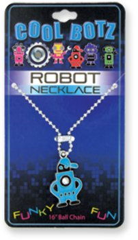 Cool Botz Robot Necklace [72 Pieces] *** Product Description: Cool Botz Robot Necklace Ride The Robot Trend With These Oh So Cool Botz Robot Necklace! A Character For Every Cyborg-Lover With Fun Colors And Hip Poses. Styles For Both Boys And Girl *** front-608752