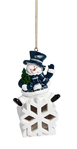 Team Sports America Philadelphia Eagles Snowman LED Ornament