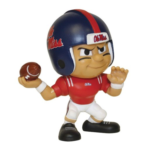 Buy Mississippi Rebels Official NCAA Lil Teammates NCAA Quarterback Series 2 Toy Figure by Party Animal Inc by Party Animal