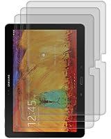 3x kwmobile film de protection pour écran MAT et ANTI-REFLETS avec effet anti-traces de doigts pour Samsung Galaxy Note 10.1 P600 Edition 2014. QUALITÉ SUPÉRIEURE