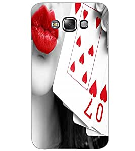 SAMSUNG GALAXY GRAND 3 CARDS Back Cover by PRINTSWAG