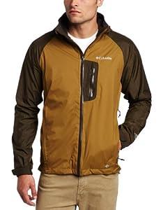 Columbia Men's Rain Tech II Jacket, Marsh, Large
