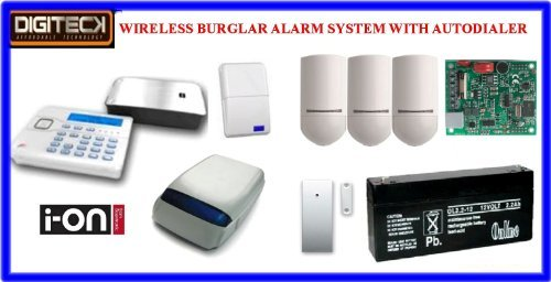 Tc103- Scantronic Ion-16 Wireless Intruder Alert Pet Immune Burglar Alarm Aut... front-566153