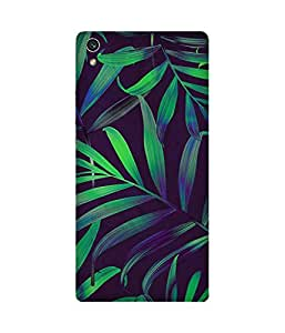 Tropical Printed Back Cover Case For Huawei Ascend P7