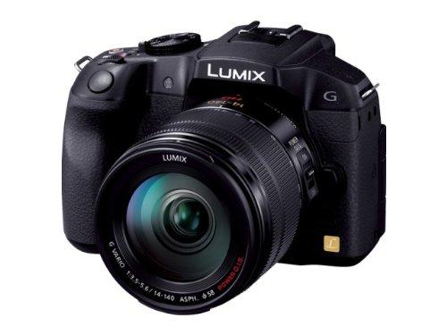 Panasonic ミラーレス一眼カメラ ルミックス G6 レンズキット 高倍率ズームレンズ付属 ブラック DMC-G6H-K