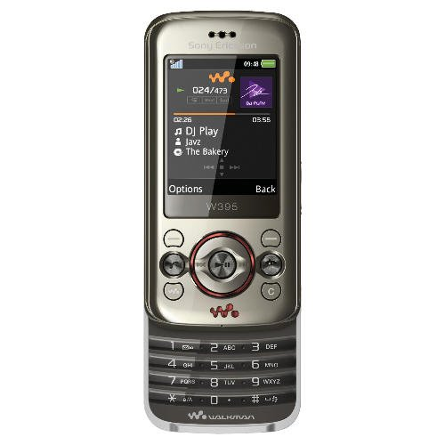 Sony Ericsson W395 Mobile Phone