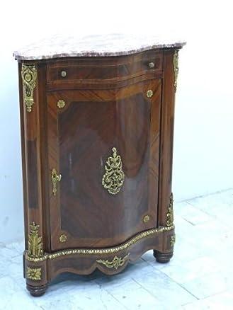 barocco Corner cassettiera Rococo Antique Style MOCR06911DKLGR