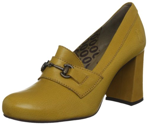 Fly London Women's Come Mustard Decorative P142248004 4 UK