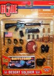 Gi Joe U.S. Army Desert Soldier Battle Gear - Buy Gi Joe U.S. Army Desert Soldier Battle Gear - Purchase Gi Joe U.S. Army Desert Soldier Battle Gear (Hasbro, Toys & Games,Categories,Toy Figures & Playsets,Figure Accessories)