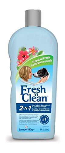 Fresh'n Clean Pet 2-in-1 Oatmeal and Baking Soda Formula Conditioning Shampoo, 18-Ounce (Baking Soda Dog Shampoo compare prices)