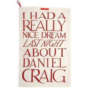 Emma Bridgewater Daniel Craig Tea Towel