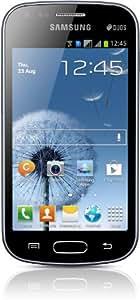 Samsung Galaxy S Duos S7562 Smartphone (10,2 cm (4 Zoll) Touchscreen, Cortex A5, 1GHz, 5 Megapixel Kamera, Android 4.0) schwarz