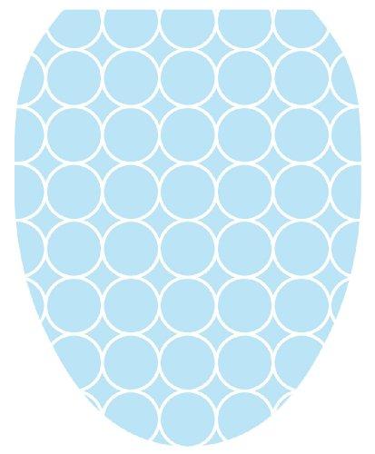 Blue Bubbles Toilet Seat