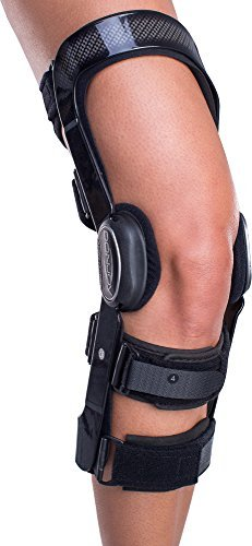DonJoy FullForce Knee Support Brace: Standard Calf Length, ACL (Anterior Cruciate Ligament), Left Leg, Large by DonJoy