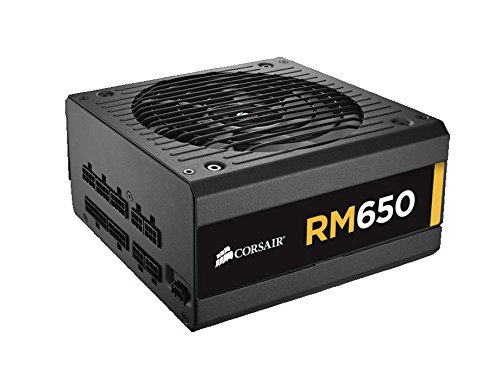 Corsair RM Series, RM650, 650 Watt (650W), Fully Modular Power Supply, 80+ Gold Certified (650w Psu Modular compare prices)