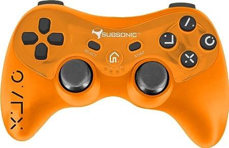 Pocket Pro Controller Flou Touch - Orange (PS3)