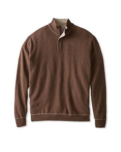Canali Men's 1/4 Zip Sweater
