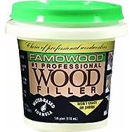 Famowood Water-Based Wood Filler-1/4PT RD OAK WOOD FILLER