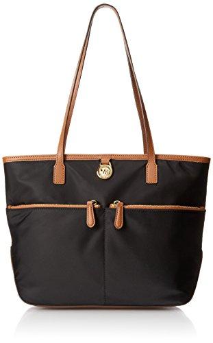 michael-kors-kempton-medium-pocket-nylon-tote-handbag-black