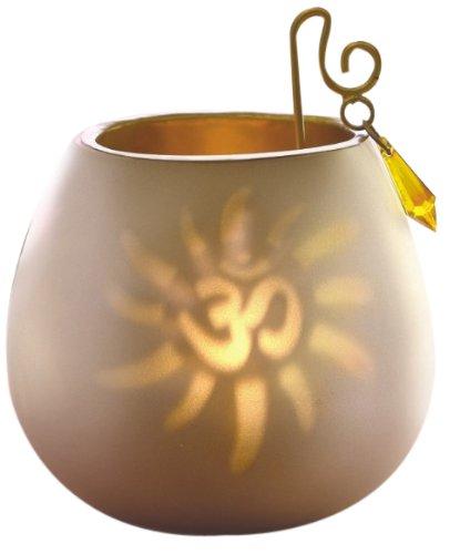Borosil Decorative Tea Light, 8cm, White