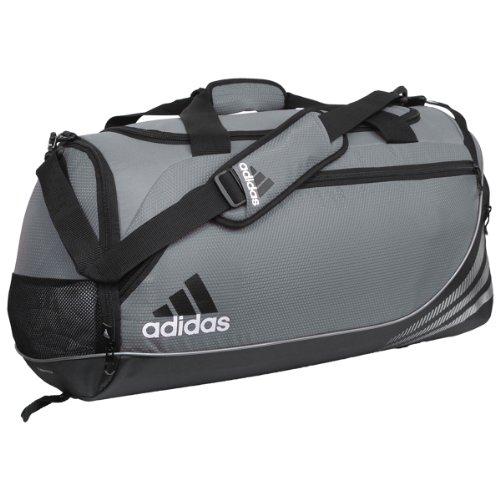 adidas Team Speed Medium Duffel Bag, Lead/Black