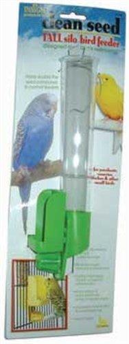 Cheap JW Pet Company Clean Seed Silo Bird Feeder Bird Accessory, Tall (Colors Vary) (B0002DJW36)