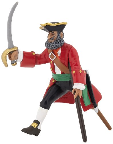 Papo Red Wooden Leg Captain