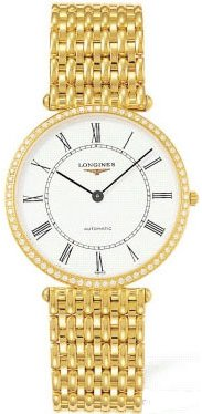 Longines La Grande Classique Unisex Mens Or Ladies Watch L4.738.7.11.6 from Longines