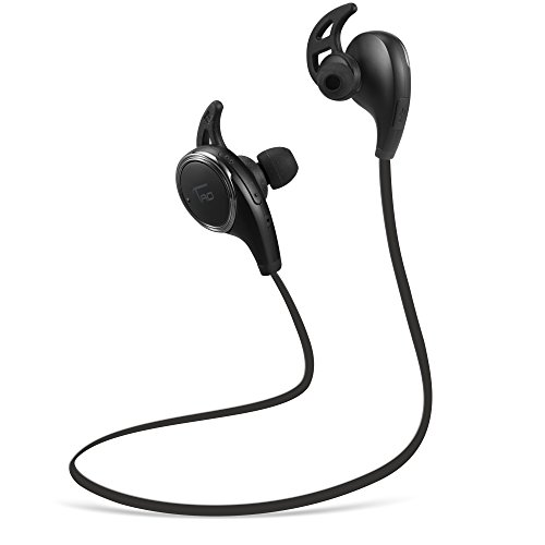 Bluetooth Headphones TaoTronics Wireless Earphones for Running with Mic (Bluetooth 4.1, aptX, CVC 6.0 Noise Cancelling, Sweatproof)