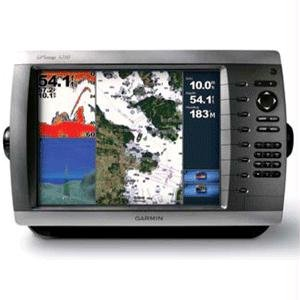 Garmin GPSMAP 4210 10.4-Inch Waterproof Marine GPS and Chartplotter Network Bundle