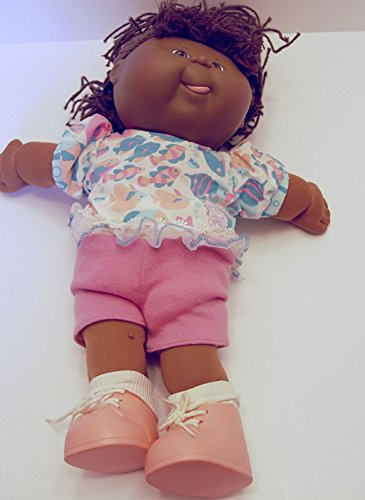 1991Cabbage Patch Kids Crimp N Curl African American Doll 15 Inches Tall