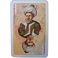 The Ottoman Empire Non-Standard Double Deck Playing Cards