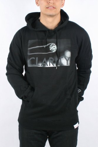 Diamond Supply - Mens Clarity Hoodie in Black, Size: XX-Large, Color: Black