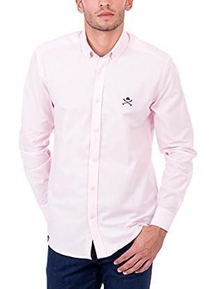 Polo Club Camisa Hombre Academy Cro Oxford (Rosa)