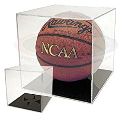 Buy BallQube Grand Stand Basketball Holder Acrylic Display Case (Soccer Balls Volleyballs) by BallQube