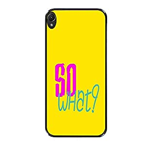 Vibhar printed case back cover for Sony Xperia Z5 SoWhat